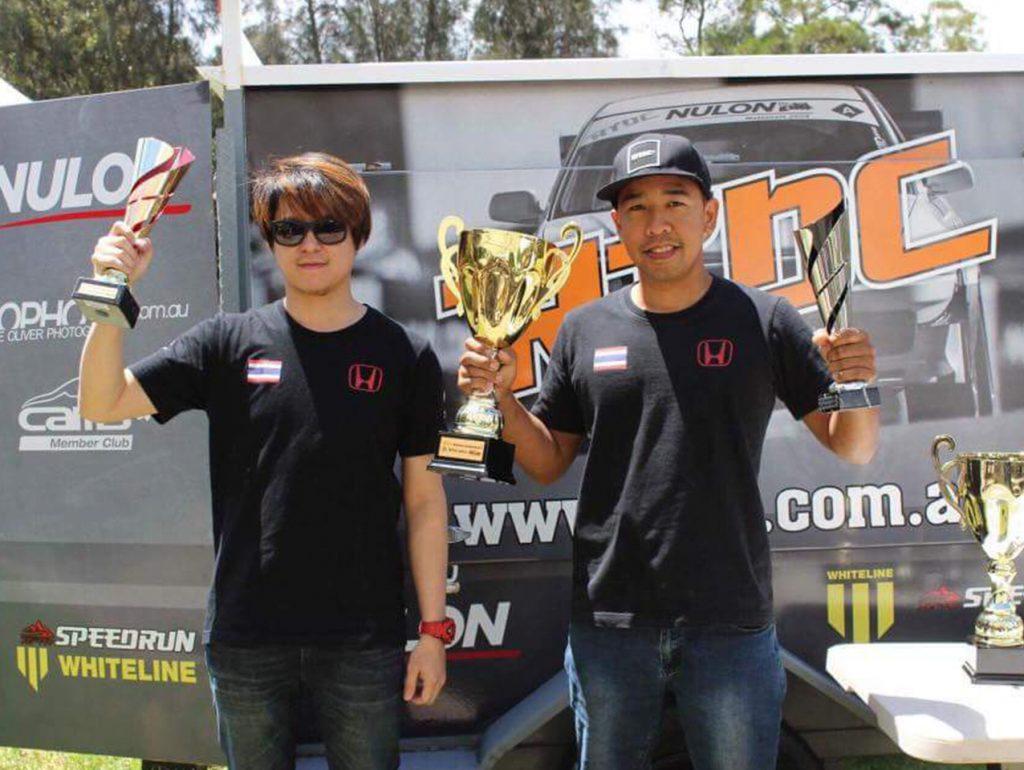 ทีมแข่งรถคนไทย