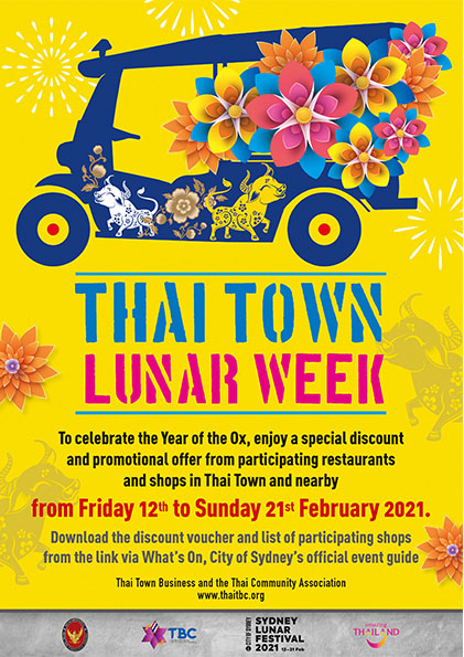 thai town luar week
