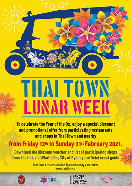 thai town luar week