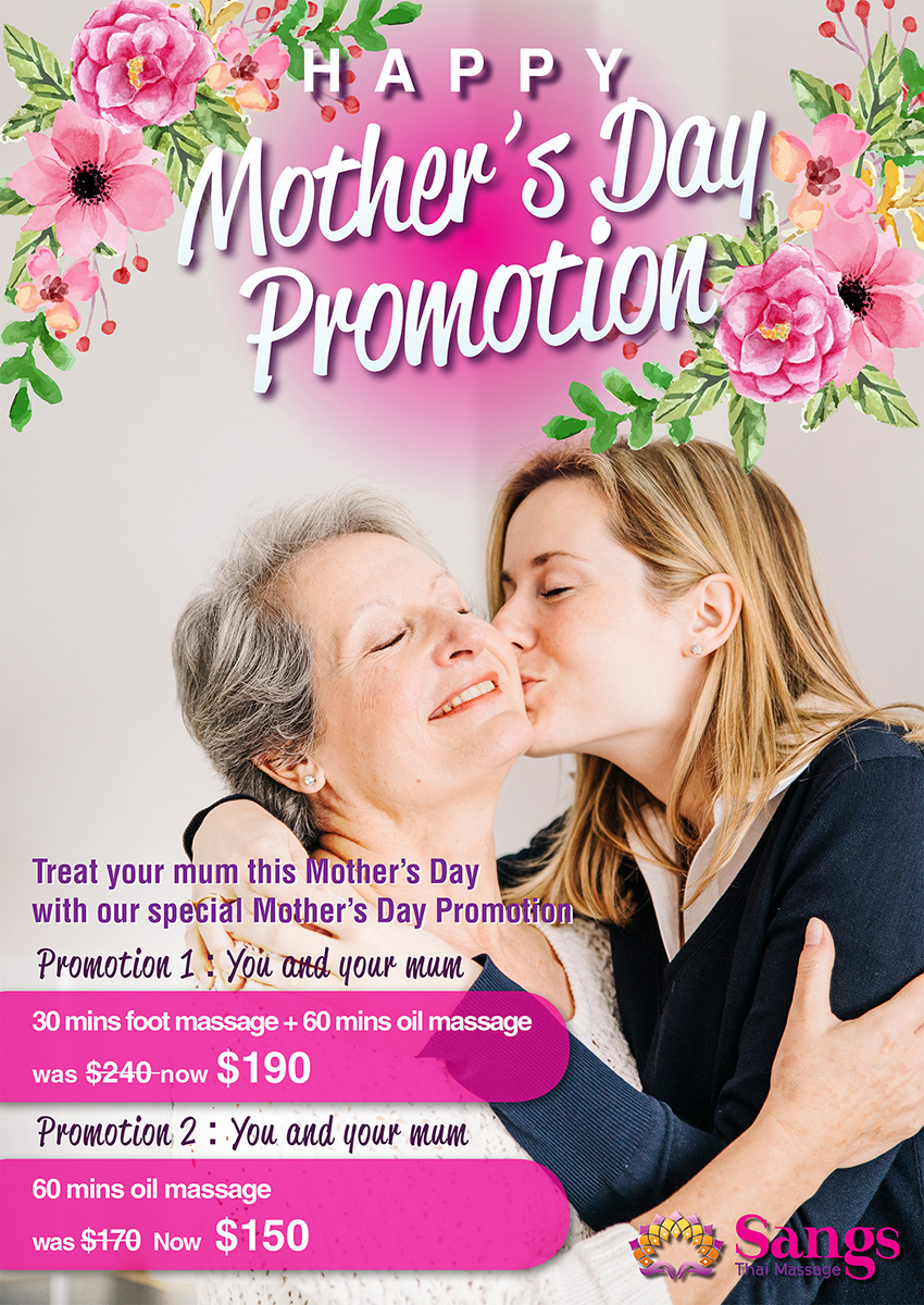 Mother Day's promotion