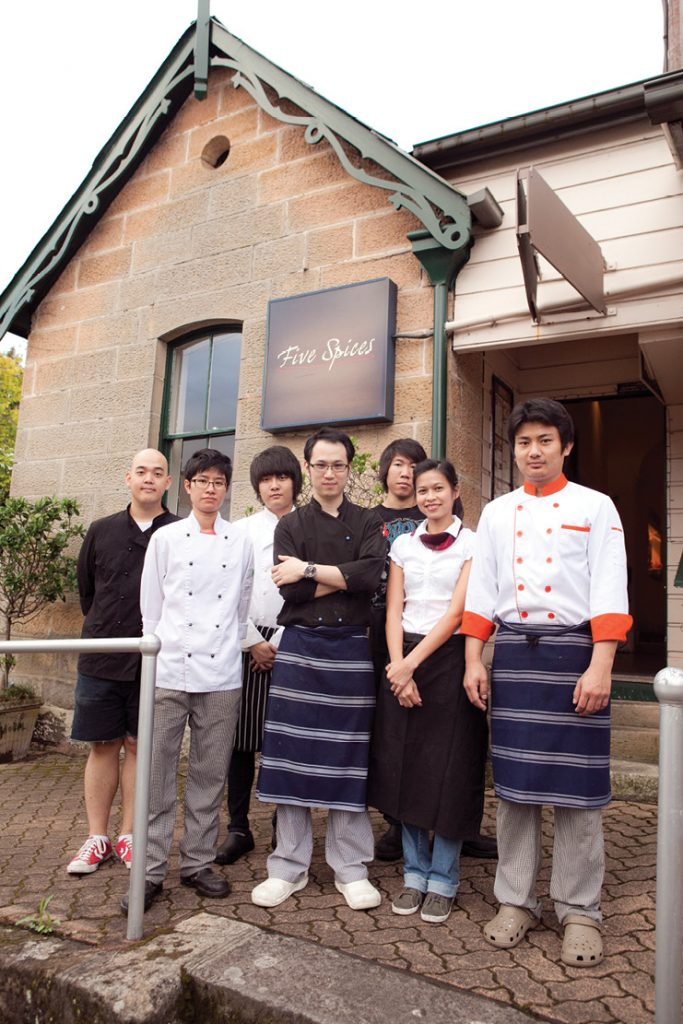 Five spice อาหารไทย โมเดิร์น Team