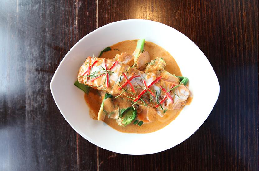 Salmon Stir Crazy Thai