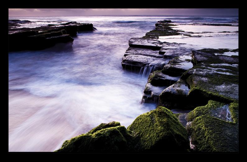 Turrimetta Beach เทคนิคการถ่ายภาพ Low-shutter speed