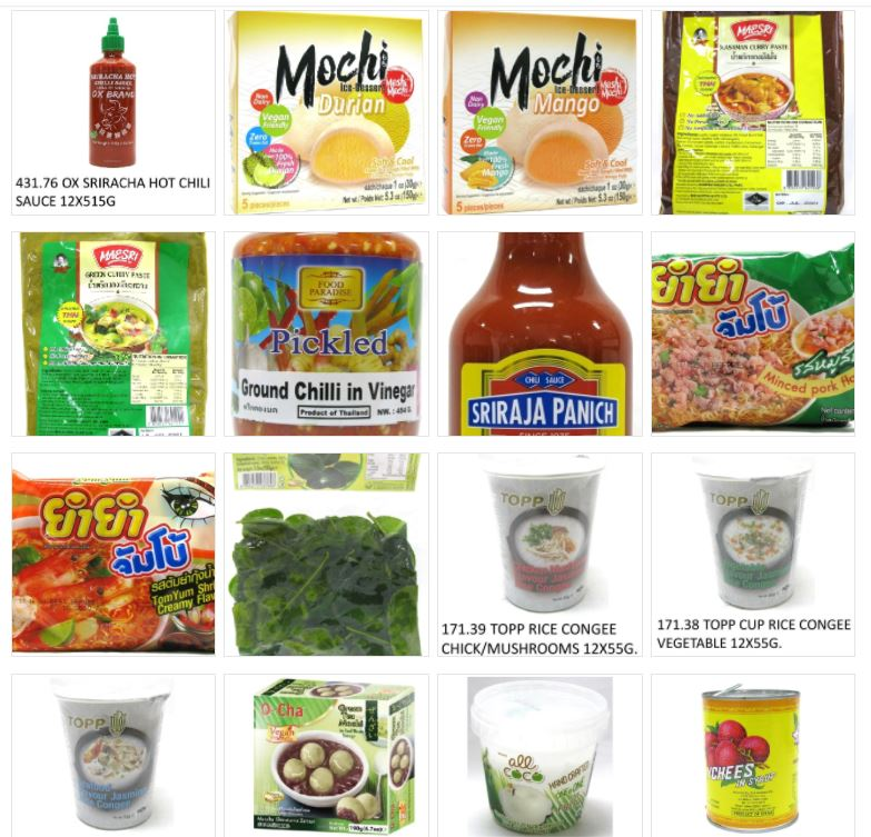 Product บริษัทนำเข้าสินค้าไทย