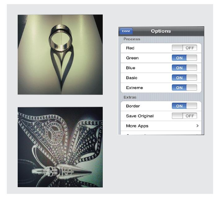 โปรแกรมถ่ายรูป ในมือถือ Cross Process